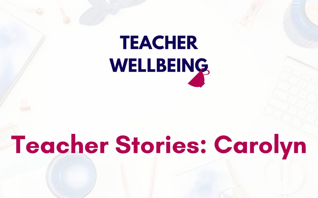 TWP S01 E09 Teacher Wellbeing Podcast Season 1 Blog Title Image