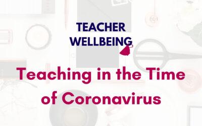 S05 E18: Teaching in the time of coronavirus