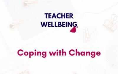S05 E20: BONUS: Coping with change + Podcast updates