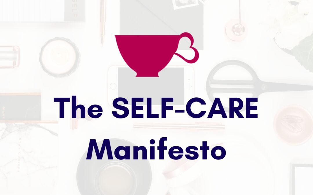 The SELF-CARE Manifesto