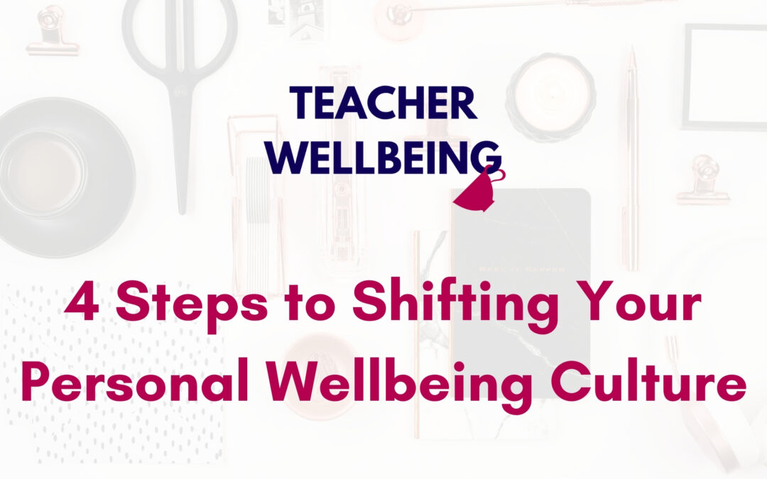 S08 E03: 4 Steps to Shifting Your Personal Wellbeing Culture