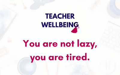S08 E11: You Are Not Lazy, You Are Tired